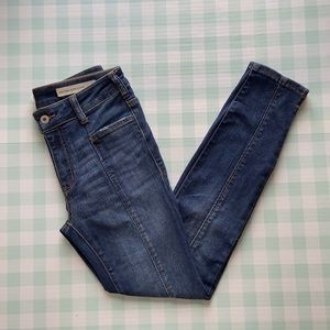 Pilcro and the Letterpres high rise skinny jeans